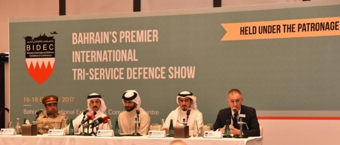 BAHRAIN INTERNATIONAL DEFENCE EXHIBITION & CONFERENCE (BIDEC) 2017 EXPERIENCES HUGE DEMAND AT REGIONAL EXPOS