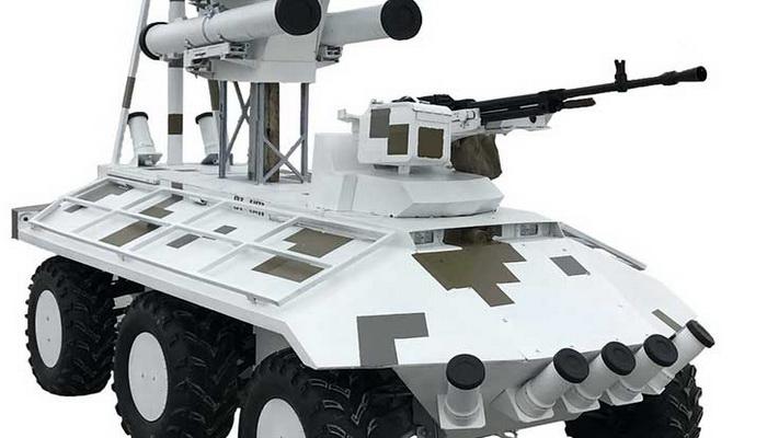 أوكرانيا تستعد لحرب المستقبل بالعربات البرية القتالية الغير مأهولة UGVs. 1000079