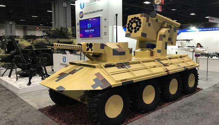 أوكرانيا تستعد لحرب المستقبل بالعربات البرية القتالية الغير مأهولة UGVs. 1000080