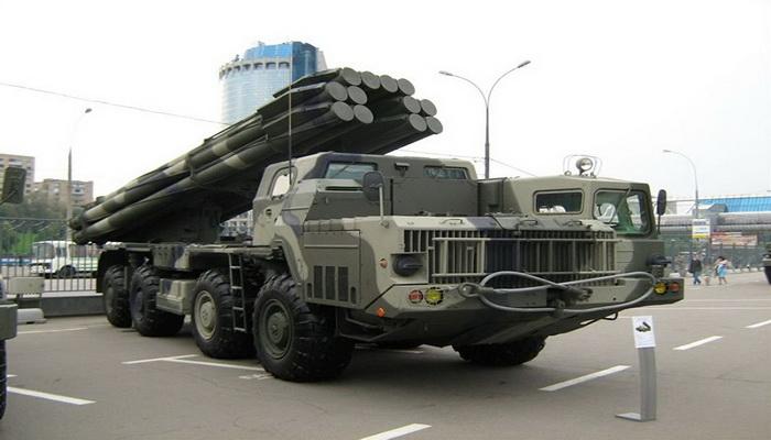 """راجمات الصواريخ"""" تورنادو- إس """" تحل محل """"سميرتش"""" في الجيش الروسي 100927"""