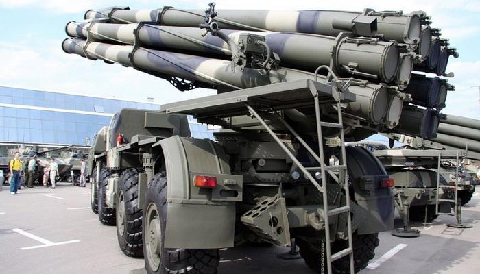 """راجمات الصواريخ"""" تورنادو- إس """" تحل محل """"سميرتش"""" في الجيش الروسي 100928"""