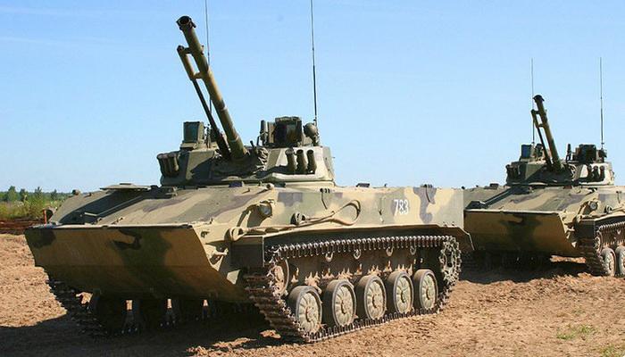قوات المظليين الروسية تتسلم دفعة جديدة من عربات الإنزال القتالية. 100961