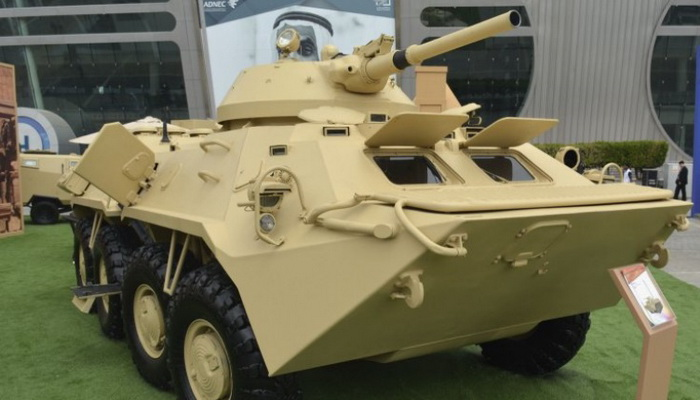 Sudan reveals 'Shareef-3' upgrade to BTR-70