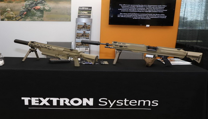 Textron publicly unveils Next Generation Squad Weapon prototypes.