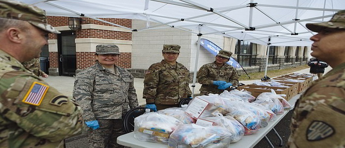 U.S. National Guard mobilized nearly 20,000 troops to support COVID-19 response efforts.
