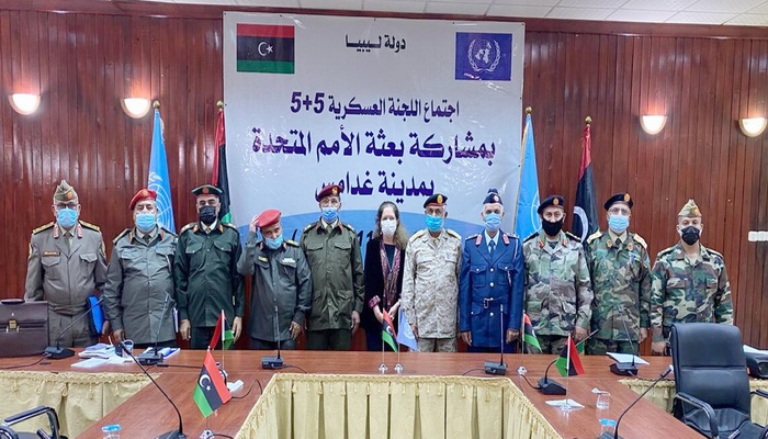 The Libyan Joint Military Committee ends its meeting in Ghadames and agrees on steps to implement the permanent ceasefire agreement in Libya.
