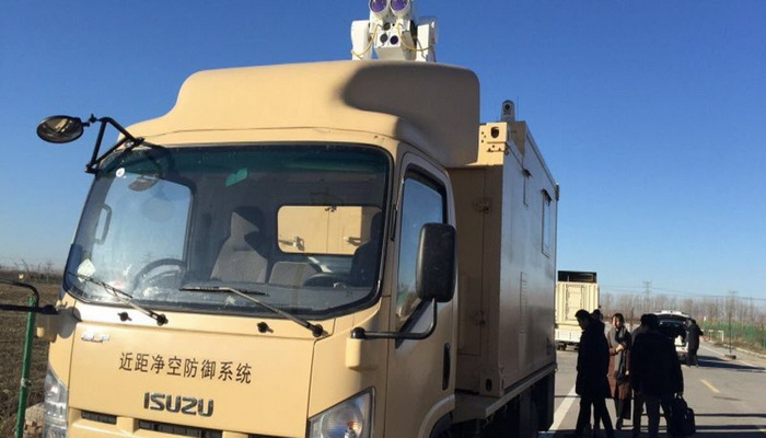 China successfully tests laser weapons system