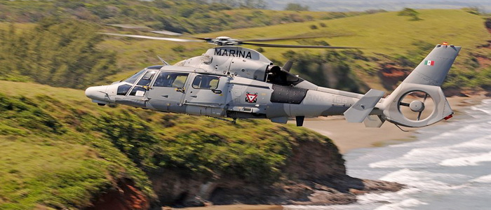 Airbus Helicopters completes AS565 MBe Panther deliveries to Mexican Navy